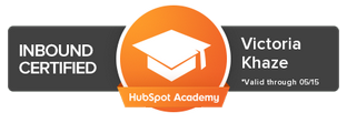 Academy Certification HubSpot